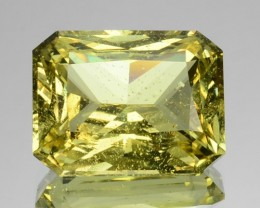 ~PRINCESS~ 5.37 Cts Natural Greenish Yellow Chrysoberyl Sri Lanka
