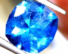 3.44- CTS  BLUE QUARTZ FACETED  CG-2554