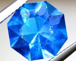 3.35- CTS  BLUE QUARTZ FACETED  CG-2555