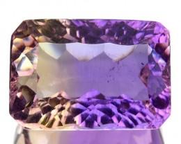 ~MILLENNIUM~ 7.18 Cts Natural Bi-Color Ametrine Octagon Bolivia