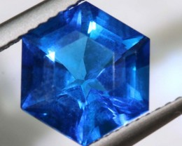 2.74- CTS  BLUE QUARTZ FACETED  CG-2561