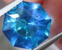 3.6- CTS  BLUE QUARTZ FACETED  CG-2563