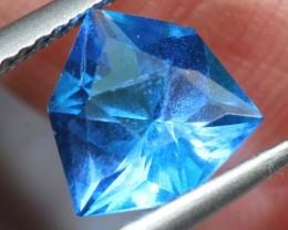 1.57- CTS  BLUE QUARTZ FACETED  CG-2572