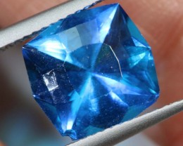 3.73- CTS  BLUE QUARTZ FACETED  CG-2575