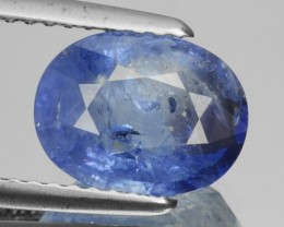 2.56 Cts Natural Corundum Sapphire Cornflower Blue Oval Cut Madagascar