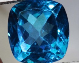 7.96-CTS  SWISS BLUE TOPAZ FACETED GEMSTONES  CG-2586