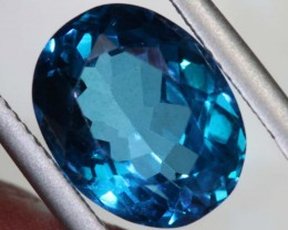7.94-CTS  SWISS BLUE TOPAZ FACETED GEMSTONES  CG-2592