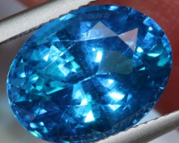 8.28-CTS  SWISS BLUE TOPAZ FACETED GEMSTONES  CG-2593