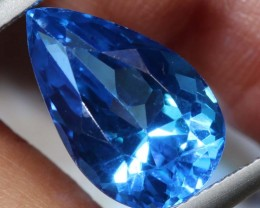 8.11-CTS  SWISS BLUE TOPAZ FACETED GEMSTONES  CG-2596