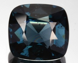 2.50 Cts Natural Cobalt Blue Spinel Cushion Cut Sri Lanka