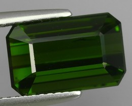 5.65~CTS AMAZING NATURAL RARE LUSTROUS GREEN TOURMALINE EXCELLENT!!!