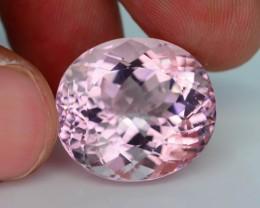 AAA Grade 23.26 ct Brazillian Pink Morganite SKU.8