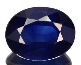 ~BEAUTIFUL~ 2.20 Cts Natural Deep Blue Sapphire Oval Cut Sri Lanka