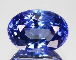 1.34 Cts Natural Corundum Blue Sapphire Oval Cut Sri Lanka