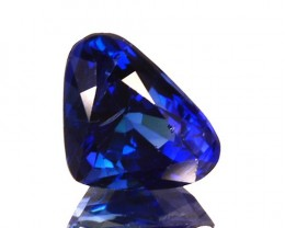 ~HEART mix PEAR~ 0.89 Cts Natural Deep Blue Sapphire Sri Lanka
