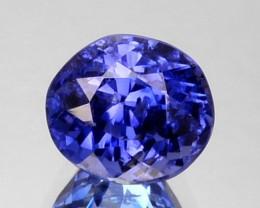 1.69 Cts Natural Nice Blue Sapphire Oval Cut Sri Lanka
