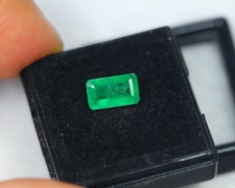 Black Friday 1.64Ct Natural Zambia Emerald Octagon Cut Lot LZB268