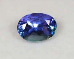 2.62Ct Greenish Violet Blue Tanzanite Oval Cut Lot LZB274