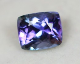 2.35Ct Violet Blue Tanzanite Cushion Cut Lot LZB275