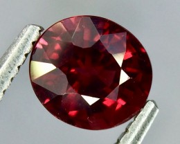 1.04 Crt Natural Rhodolite Garnet Faceted Gemstone.( AG 60)