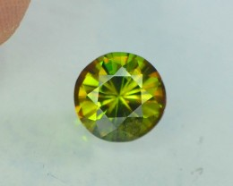 AAA Color 0.95 ct Chrome Sphene from Himalayan Range Skardu Pakistan