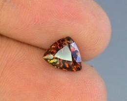 Rare 1.45 ct Multicolor Natural Axinite