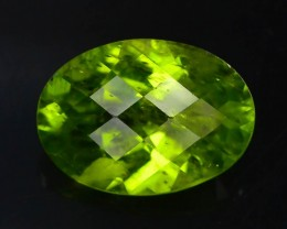 7.30 Ct Untreated Green Peridot