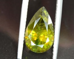 4.55 Carats AAA Color Full Fire Natural Chrome Sphene Loose Gemstone