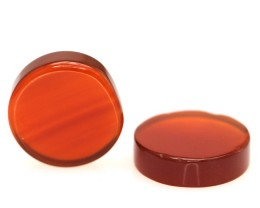 9.64cts Matching Round Disc Cut Carnelian