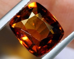 4.70-CTS HESSONITE  GARNET FACETED GEMSTONE PG-2501