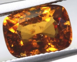 5.15-CTS HESSONITE  GARNET FACETED GEMSTONE PG-2512
