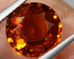 4.80-CTS HESSONITE  GARNET FACETED GEMSTONE PG-2517