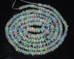 16 Inches Ethiopian Opal Beads Natural Welo Play Of Color OB228