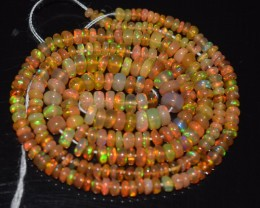 16 Inches Ethiopian Opal Beads Natural Welo Play Of Color OB225
