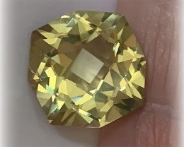 9.70ct SUPERB CUSTOM CUT CITRINE - WONDERFUL GEM