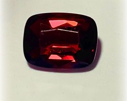 1.53ct Tomato Red Spinel - VVS  -