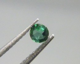 Certified 0.16ct Paraiba Tourmaline , 100% Natural Gemstone