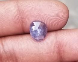 BLUE SAPPHIRE ROSE CUT Natural  Untreated Gemstone VA363