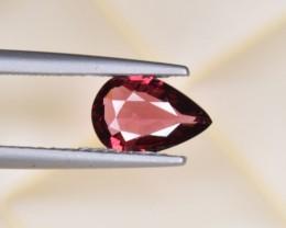 Natural Rhodolite Garnet 1.03 Cts, Top Luster