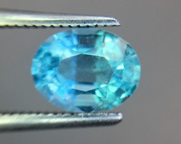 1.75 Cts Neon Blue Apatite ~ Insanity ~ Untreated ~ Pv15