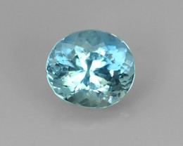 Nice Quality Natural Blue Aquamarine  Untreated Oval GEM!!