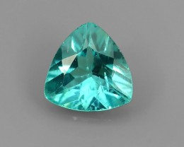 ~Surprising Outstanding Unheated Natural Trillion Apatite Green~
