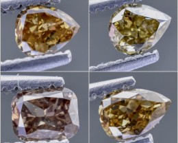 0.90 Crt Diamond Parcels Faceted Gemstone (R30)
