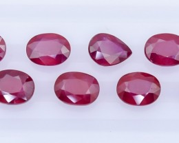24.90 Crt  Composite Ruby Faceted Gemstone (R30)