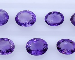 30.25 Crt Amethyst Parcels  Faceted Gemstone (R30)