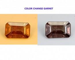 1.15CT COLOR CHANGE GARNET  BEST QUALITY GEMSTONE IGC517