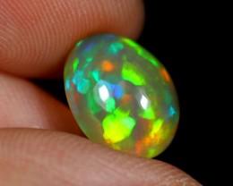 2.70cts Greenish Ethiopian Welo polished Opal