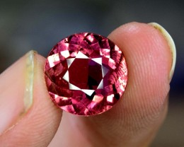 3.95 Carats Oval Cut Natural Rubellite Tourmaline Gemstone From AFG