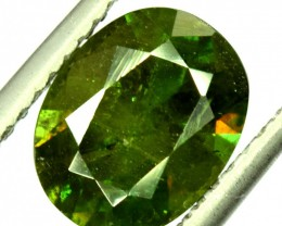 3.85 Carats AAA Color Full Fire Natural Chrome Sphene Loose Gemstone