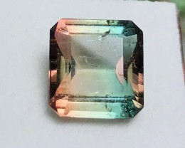 6.70 cts VS Bicolor Tourmaline - AAA Cotton Candy